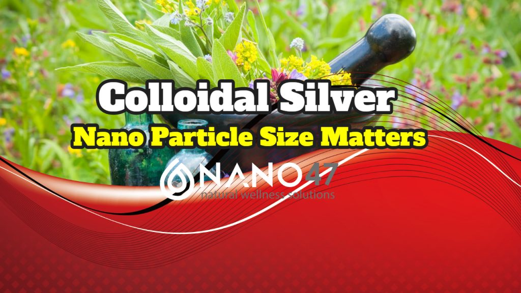 Colloidal Silver Particle Sizes – Why Larger Is Sometimes Better