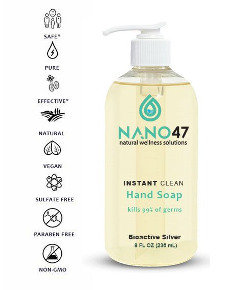 colloidal silver hand soap